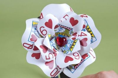 how to make playing cards on word