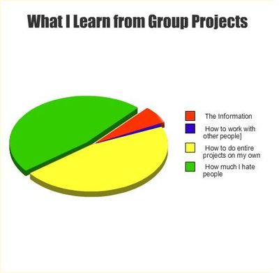 group project ruined my grade