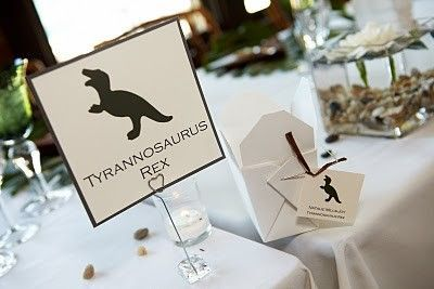 Jurassic Park Wedding Ideas