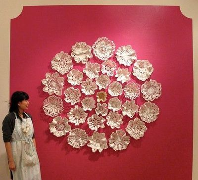 Doily wall art / Walls stash - Juxtapost