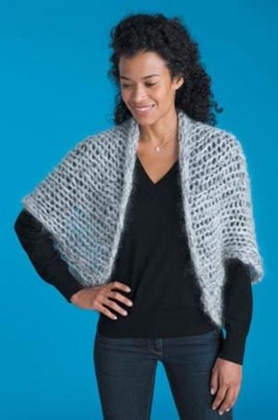 Cocoon shrug free knitting pattern / knits and kits - Juxtapost