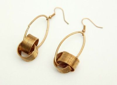 Tribal chic meets modern design in this gorgeous pair of sterling silver earrings -- $50 #PinterestParty