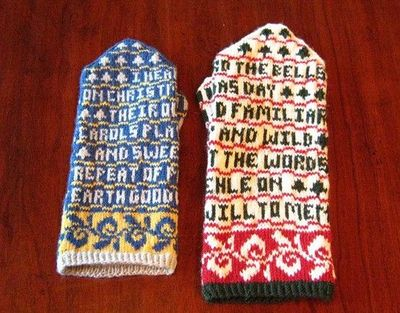 poetry mittens