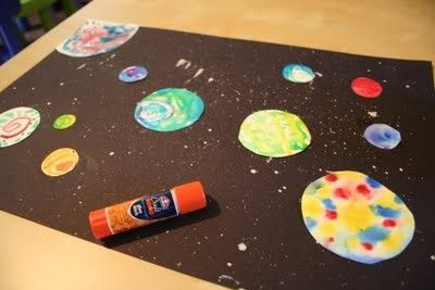 preschool planets art - photo #6