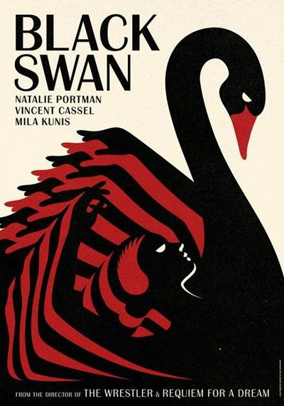 Stunning Black Swan posters.