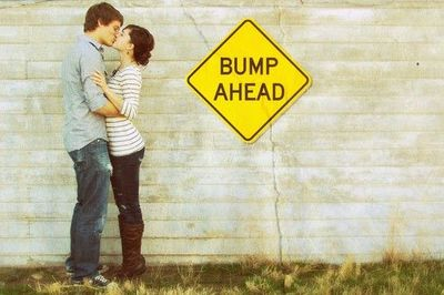 Juxtapost - Cute pregnancy announcement! / babies & things