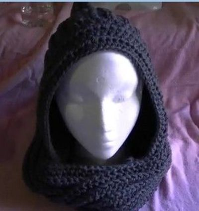 Free Knit Scoodie Pattern : Free Crochet