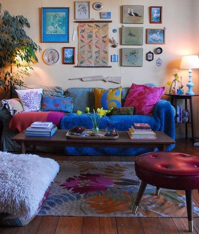 jewel toned gypsy living room for the home juxtapost