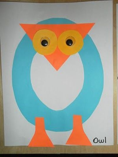 letter o owl crafts preschool items juxtapost