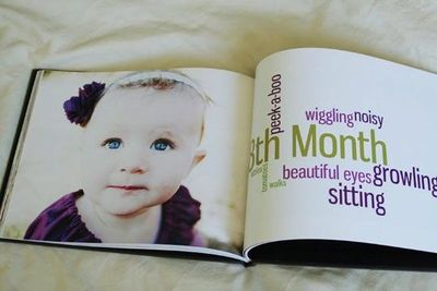 Baby's first year book / Memory Book Ideas - Juxtapost