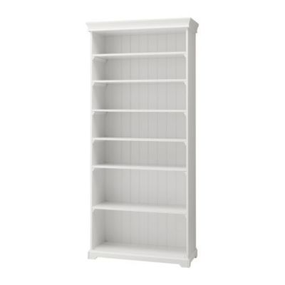 White Ikea Beadboard Backed Bookcase For The Home Juxtapost