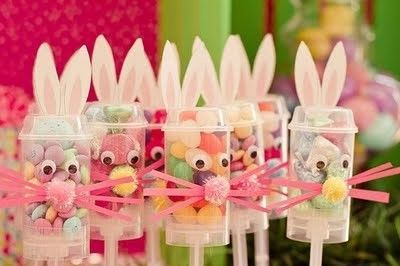 Bunny Push Up Treats And Other Great Easter Party Ideas