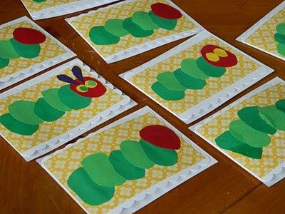 Hungry Caterpillar art