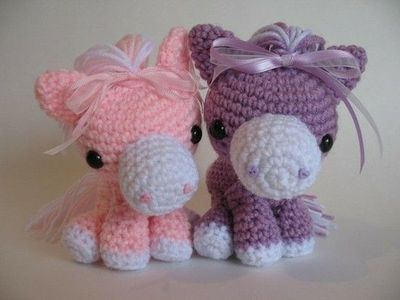 Amigurumi Year Of The Horse : Cotton Candy Horse Pattern / crochet ideas and tips ...