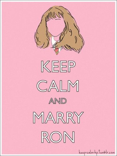Keep Calm And Love Ron Weasley