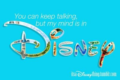 Disney! Yup, pretty much true!