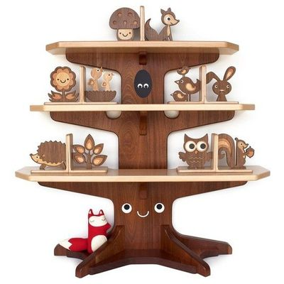 low priced 62017 43172 Our enchanted Woodland Happy Tree Bookshelf is handmade in t ...