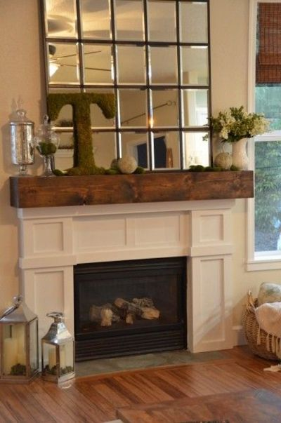 Mirror Over Fireplace For The Home Juxtapost