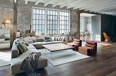 industrial loft style living