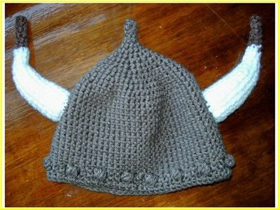 Viking Hat Free Pattern Crochet Ideas And Tips Juxtapost