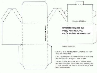 paperhouse template