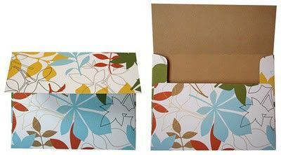 How to make envelopes out of patterned paper