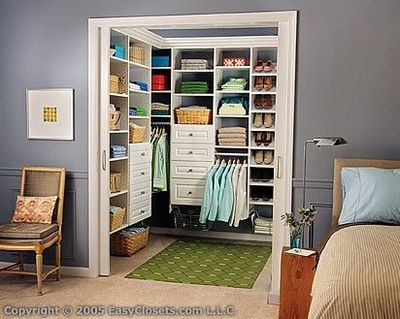 Walk In Closet With Pocket Door