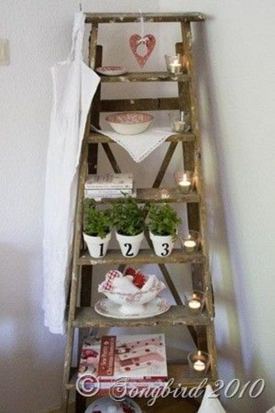 Decorating With Ladders So Creative Cute In A Garden