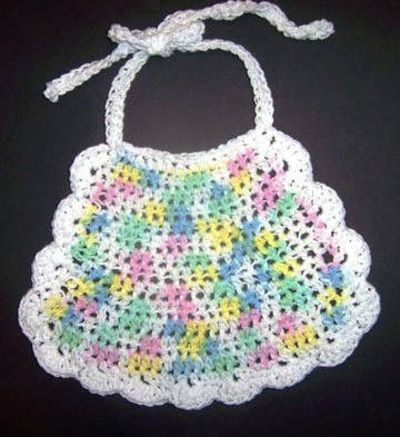 Knitting Pattern Central - Free Baby Bibs Knitting Pattern Link