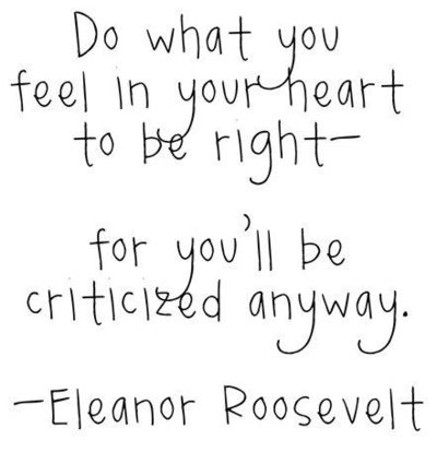 eleanor roosevelt dropping knowledge