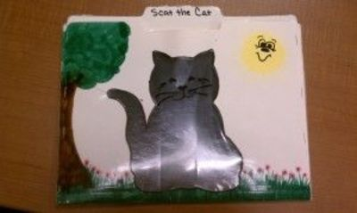 Scat the Cat folder story