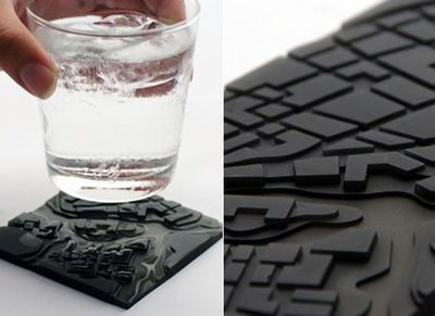 I thought this was a cool coaster! / design concepts/ideas - Juxtapost