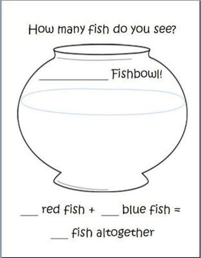 1 Fish 2 Fish Addition Free Addition Template Http K