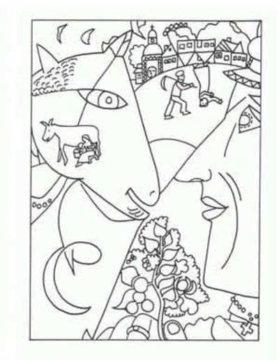 art coloring pages for kids - photo#36