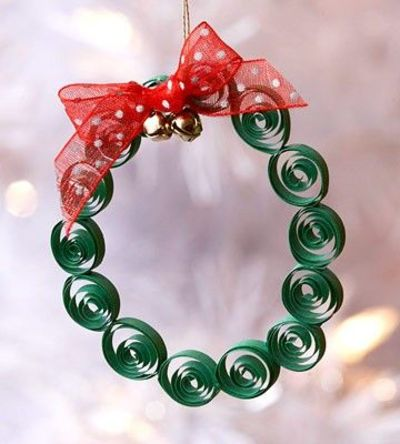 Easy Christmas Ornaments Kids Can Make / Papercraft ...