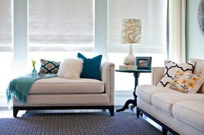 My Color Scheme For Living Room  White, Gray, Back, Teal And Yellow Part 36