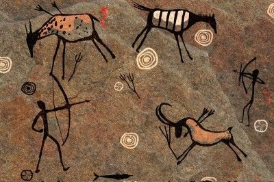 Caveman Art : Cave art lessons tes teach