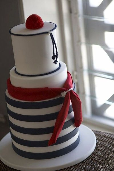 Sailor Cake Wedding Cakes