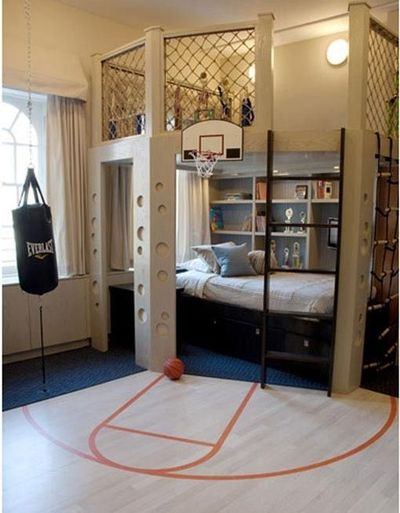 bedrooms for boys--super super awesome!