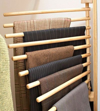 Wall Mounted Trouser Rack Not Only Could This Save E I Won T