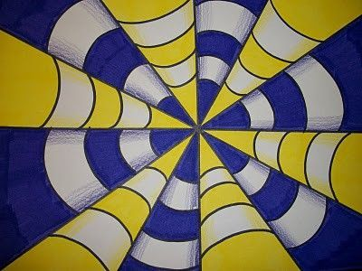 Op Art Complementary Colors