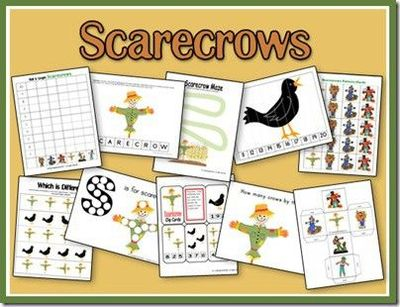 Scarecrow Unit from 2 Teaching Mommies