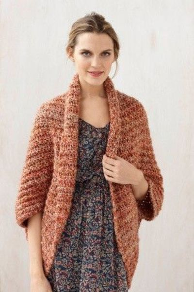 Crochet Shrug Pattern : Free Crochet Pattern: Simple Crochet Shrug / crochet ideas and tips ...