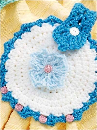 Crochet Patterns For Dish Towel Topper : crocheted towel topper-free pattern download / crochet ...