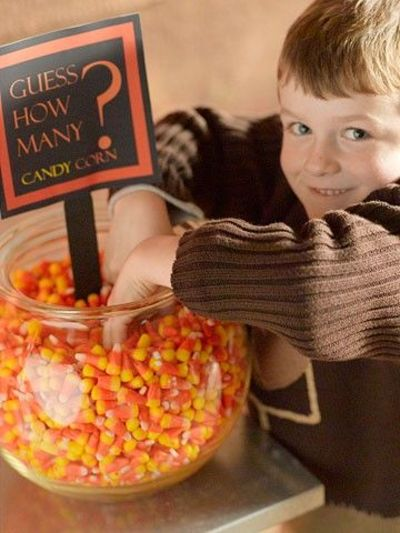 Lots of halloween party games for kids estimation for Halloween party games for preschoolers