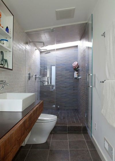 Bathroom Ideas With Double Shower : Double shower in narrow bathroom bath ideas juxtapost