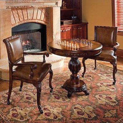 Table Chairs And Chess Set Crochet Ideas And Tips