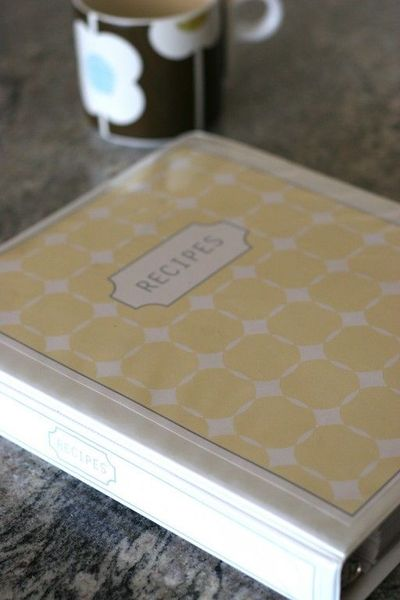 diy wedding binder templates - diy recipe binder free templates papercraft juxtapost