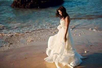 Cascading Goddess Gown images