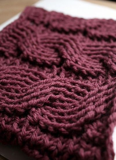 Crochet Cable Stitch : Free Cable Crochet pattern / Knits and stitch - Juxtapost